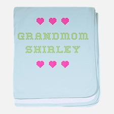 Grandmom Shirley baby blanket