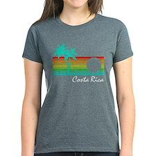 Costa Rica Vintage Distressed Design T-Shirt