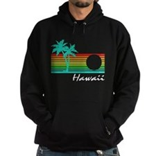 Vintage Hawaii Distressed Design Hoodie