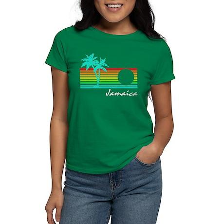 Jamaica Vintage Distressed Design T-Shirt