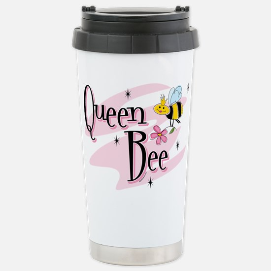 Queen Bee Stainless Steel Travel Mug