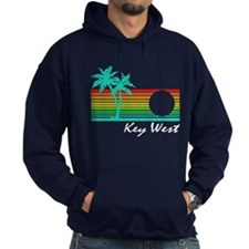 Key West Vintage Distressed Design Hoodie