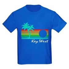 Key West Vintage Distressed Design T-Shirt