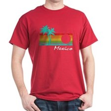 Mexico Vintage Distressed Design T-Shirt