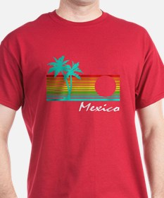 Mexico Vintage Distressed Design T-Shirt