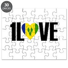 1LOVE ST.VINCENT Puzzle