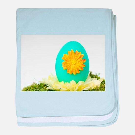 Easter Egg baby blanket