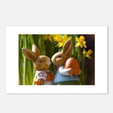 Easter Bunnies Postcards (Package of 8)