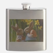 Easter Bunnies Flask