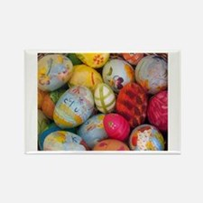 Easter Eggs Rectangle Magnet