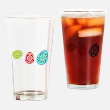 Easter Eggs Drinking Glass