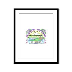 Cabin Fever Artworks Logo Framed Panel Print