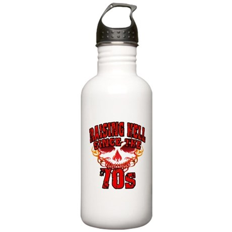 Raising Hell since the 70s Water Bottle