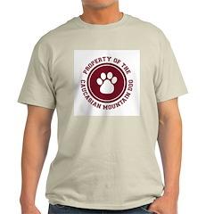 Caucasian Mountain Dog Ash Grey T-Shirt