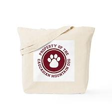 Caucasian Mountain Dog Tote Bag