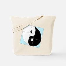 Golden Ratio Yin Yang Tote Bag
