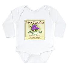 Vino Bambino Wine Label - Body Suit