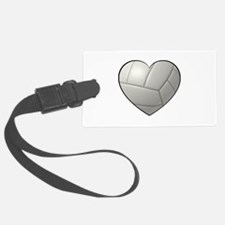 Volleyball Heart Luggage Tag