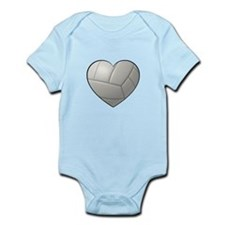 Volleyball Heart Body Suit