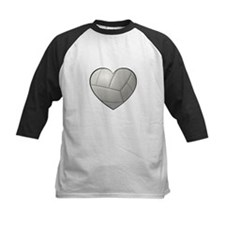 Volleyball Heart Baseball Jersey