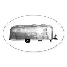 Airstream Trailer Oval Bumper Stickers