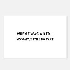 When I Was Kid Postcards (Package of 8)