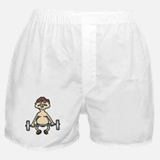 Funny Bodybuilding Boxer Shorts