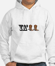 Yall Boots Hoodie
