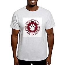 Black and Tan Coonhound Ash Grey T-Shirt