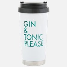 gin tonic please Travel Mug