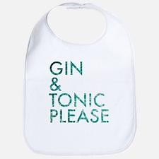 gin tonic please Bib