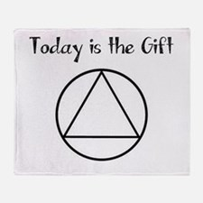 Today is the Gift Throw Blanket