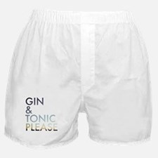gin and tonic please Boxer Shorts