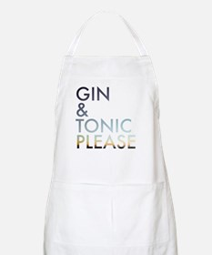 gin and tonic please Apron