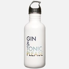 gin and tonic please Water Bottle