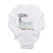 gin and tonic please Body Suit