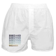 portland, oregon Boxer Shorts