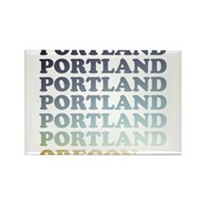 portland, oregon Rectangle Magnet