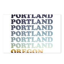portland, oregon Postcards (Package of 8)