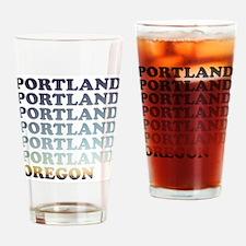 portland, oregon Drinking Glass