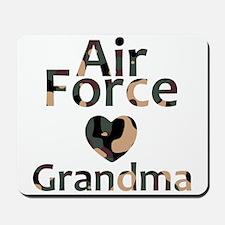 AF Grandma Heart Camo Mousepad