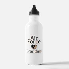 AF Grandma Heart Camo Water Bottle