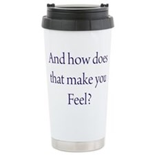 Cute Licensed mental health counselor Stainless Steel Travel Mug
