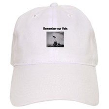 Remember Our Vets Baseball Baseball Cap