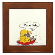 Darn Fish Framed Tile