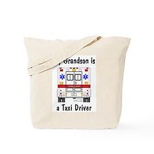 Taxi Driver Grandson Tote Bag