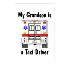 Taxi Driver Grandson Postcards (Package of 8)