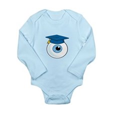 Eye with graduation Hat Body Suit