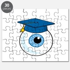 Eye with graduation Hat Puzzle