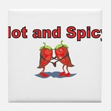 Hot and Spicy Tile Coaster
